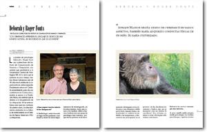 Entrevista a los Fouts para Revista Redes para la ciencia